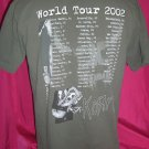 Korn Untouchables Tour 2002 Large T-Shirt