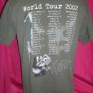 Korn Untouchables Tour 2002 Large T-Shirt