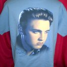 Cool Blue Elvis Presley Size Large T-Shirt