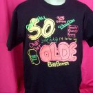 "Vintage ""Over The Hill"" 50th Birthday Large or XL T-Shirt"
