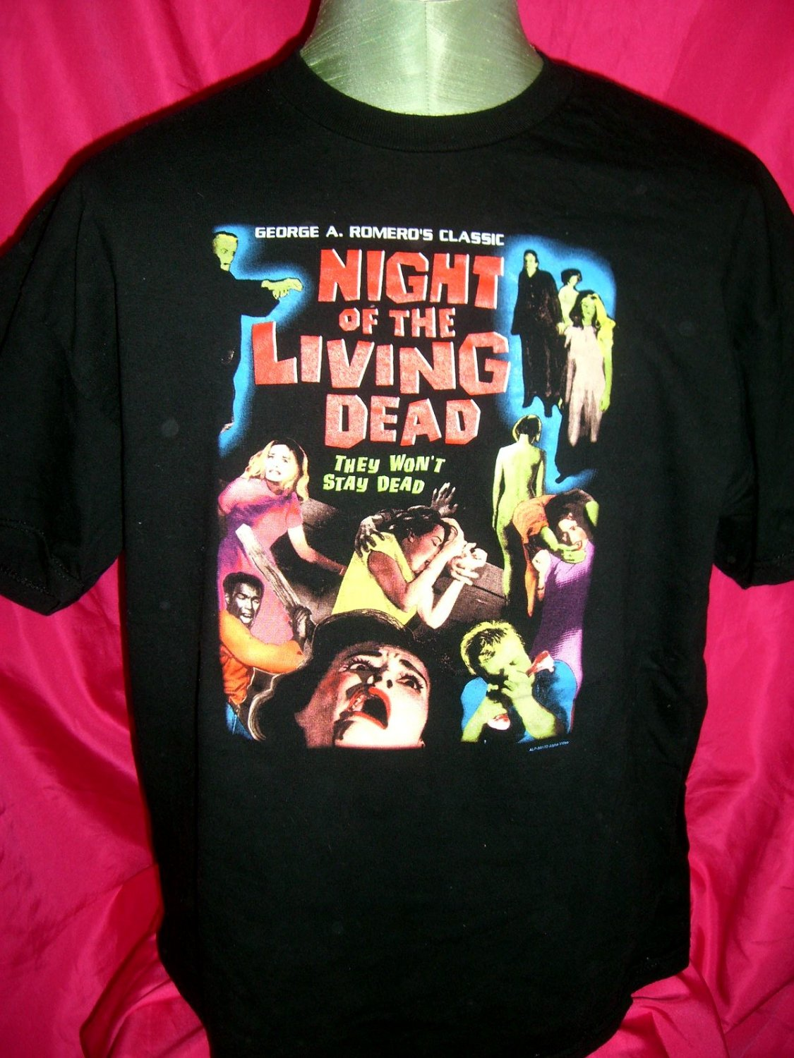 SOLD! Night of the Living Dead XL T-Shirt
