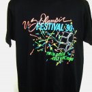 Vintage 1990 US OLYMPIC FESTIVAL T-Shirt Size Large/XL  Twin Cities MN