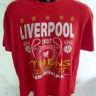 LIVERPOOL SOCCER 2007 Finals  Red XL T-Shirt