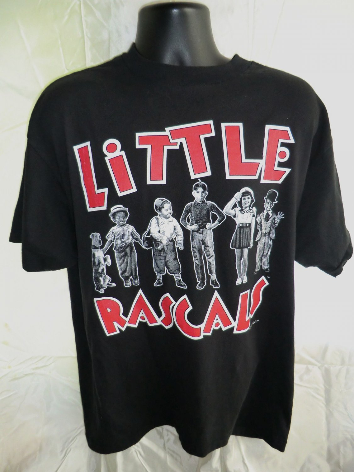SOLD! Rare Little Rascals XL /XXL T-Shirt Vintage 1993 Our Gang