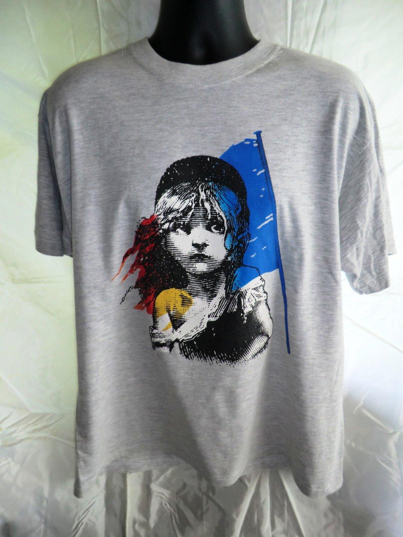 SOLD! Rare Vintage 1986 Les Miserables London Theatre T-Shirt Size XL