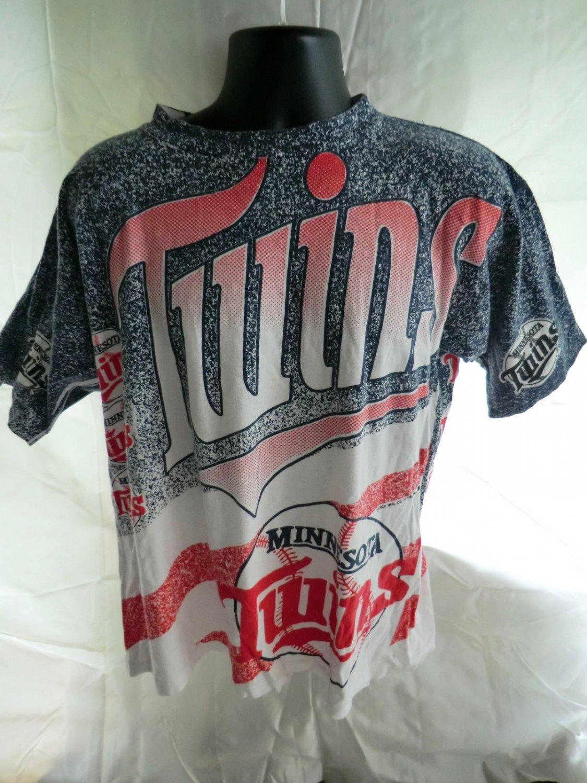 Unique Vintage 1991 Minnesota Twins Large T-Shirt