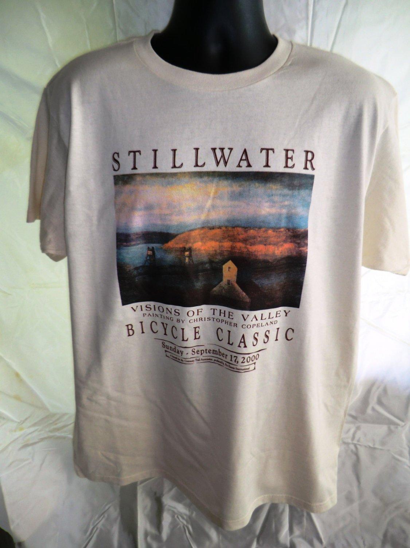 Stillwater Minnesota Bicycle Classic 2000 XL T-Shirt Bike Trail