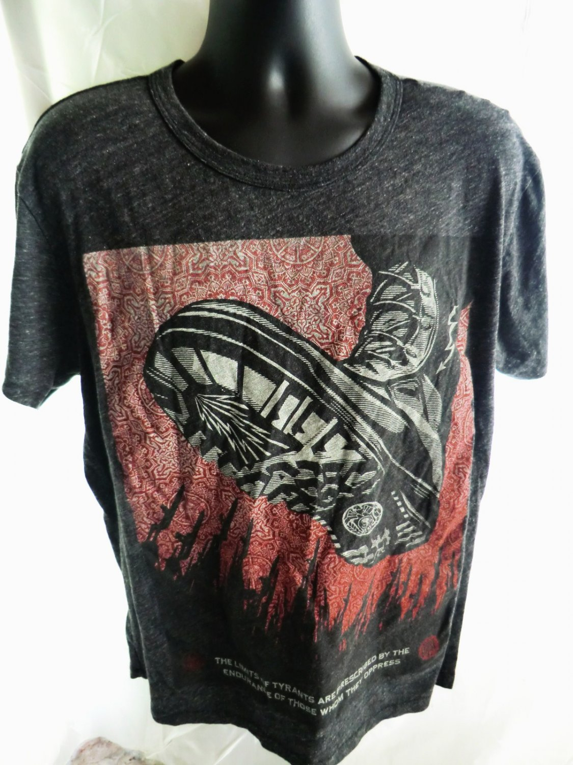 SOLD! Protesting? Wear this T-Shirt Size Large or XL Tyrants Oppress by Fairey