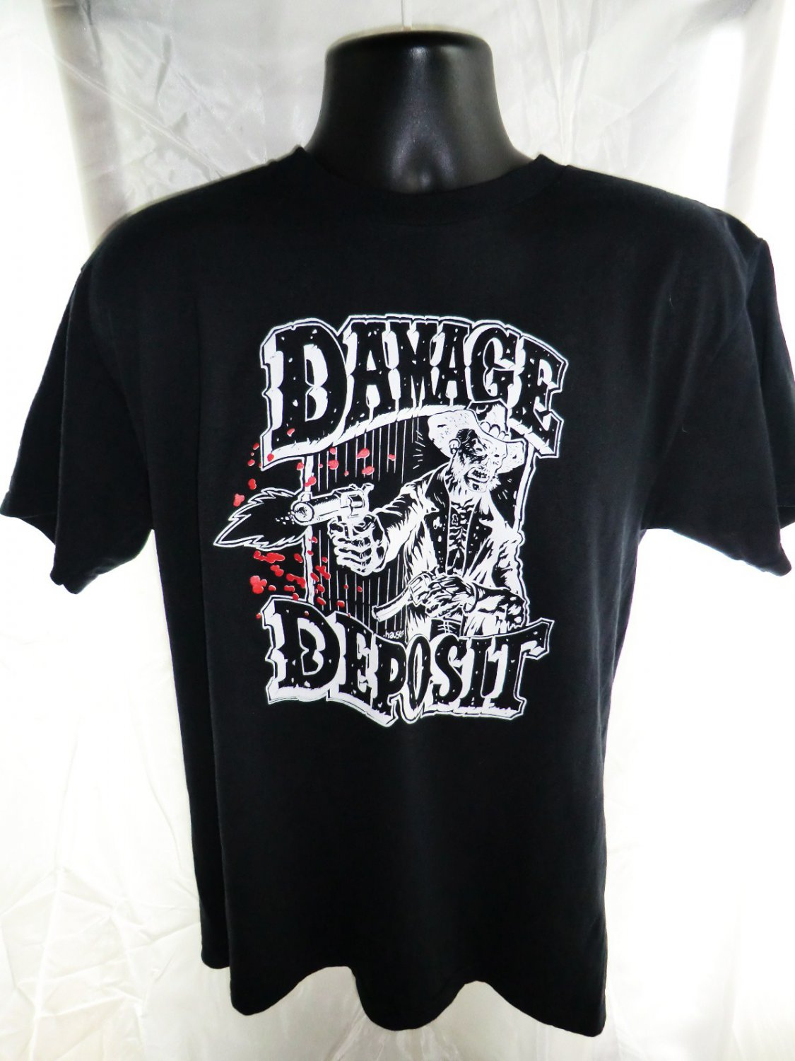 Damage Deposit Summer Tour 2004 Size Large T-Shirt