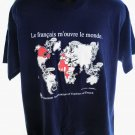 Teachers of French Global T-Shirt Size XL