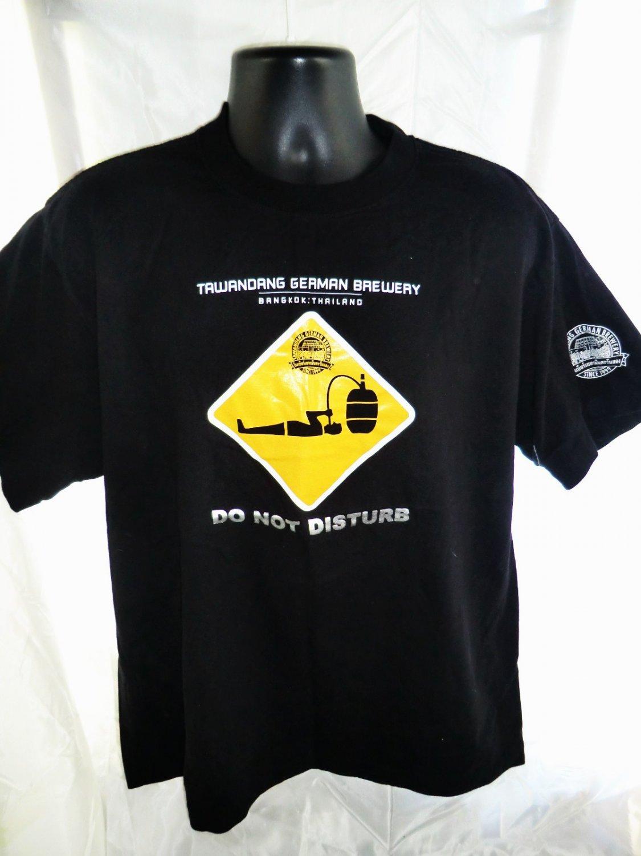 Rare German Brewery  T-Shirt ~ Bangkok Thailand Tawandang Beer Size XL
