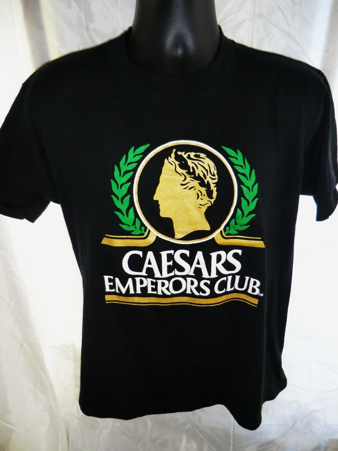 SOLD! Vintage Caesars Palace Emperors Club T-Shirt Size Medium or Large
