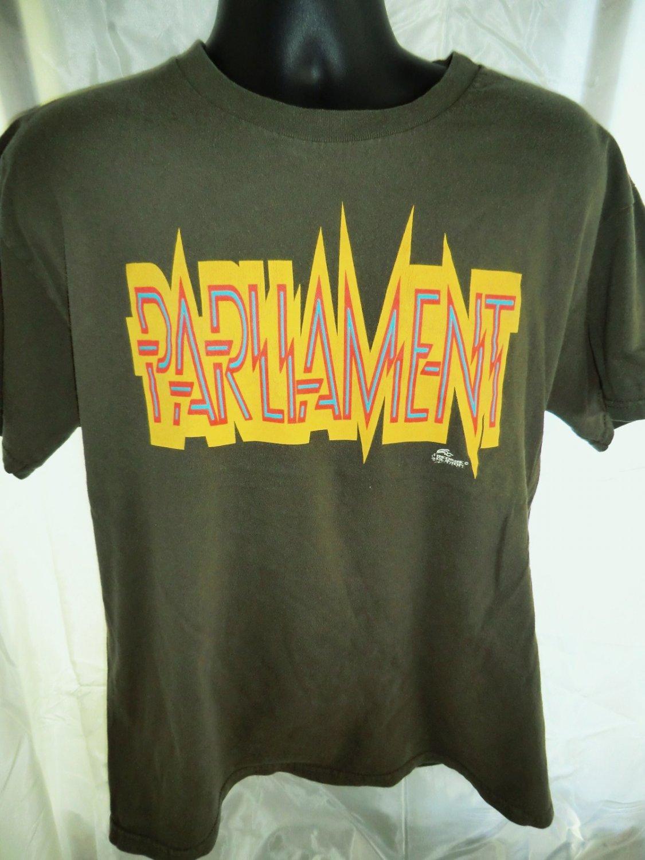 SOLD! FUNKADELIC Parliament  T-Shirt George Clinton Size Large  Disco