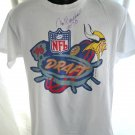 Minnesota Vikings 1996 Draft T-Shirt Size Medium Jim Marshall