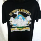 This is HEAVEN No This is IOWA T-Shirt Size Large XL Field Of Dreams