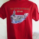 USS Independence CV-62 Rare T-Shirt Size Medium Vintage 1985