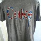COKE (Coca Cola) T-Shirt Size Large ~ Union Jack Flag