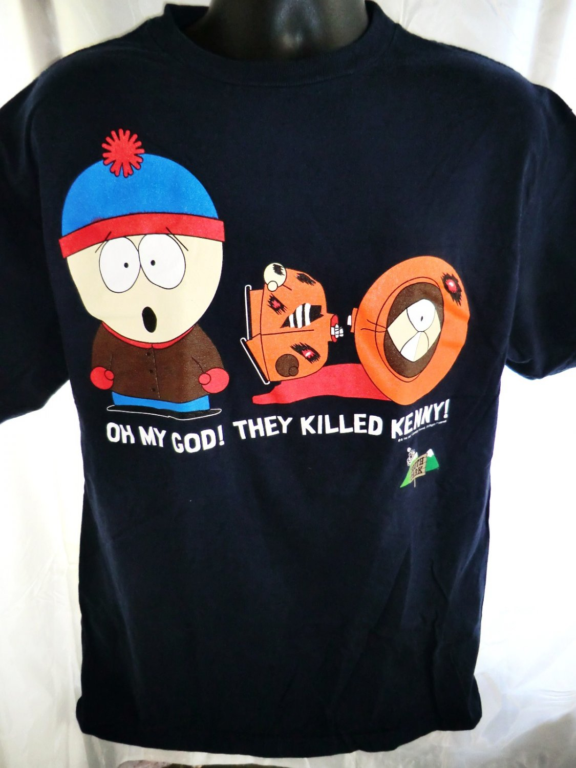 SOLD! Vintage 1997 SOUTH PARK T-Shirt Size Large They Killed Kenny