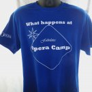 "Minnesota OPERA CAMP Large T-Shirt ""What happens at Opera Camp Stays..."""