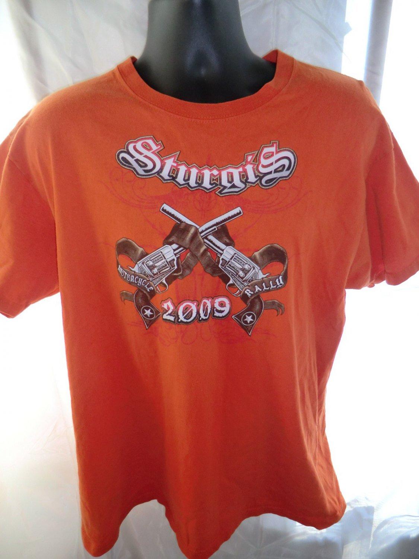 2009 STURGIS Black Hills Rally T-Shirt Size Large