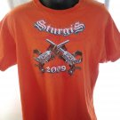 2009 STURGIS Black Hills Rally T-Shirt Size Large