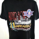 Vintage Super Bowl XXVI Minneapolis MN 1992 T-Shirt Size Large