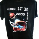 Central ART CAR Omaha Nebraska Vintage 2000 T-Shirt Size Large