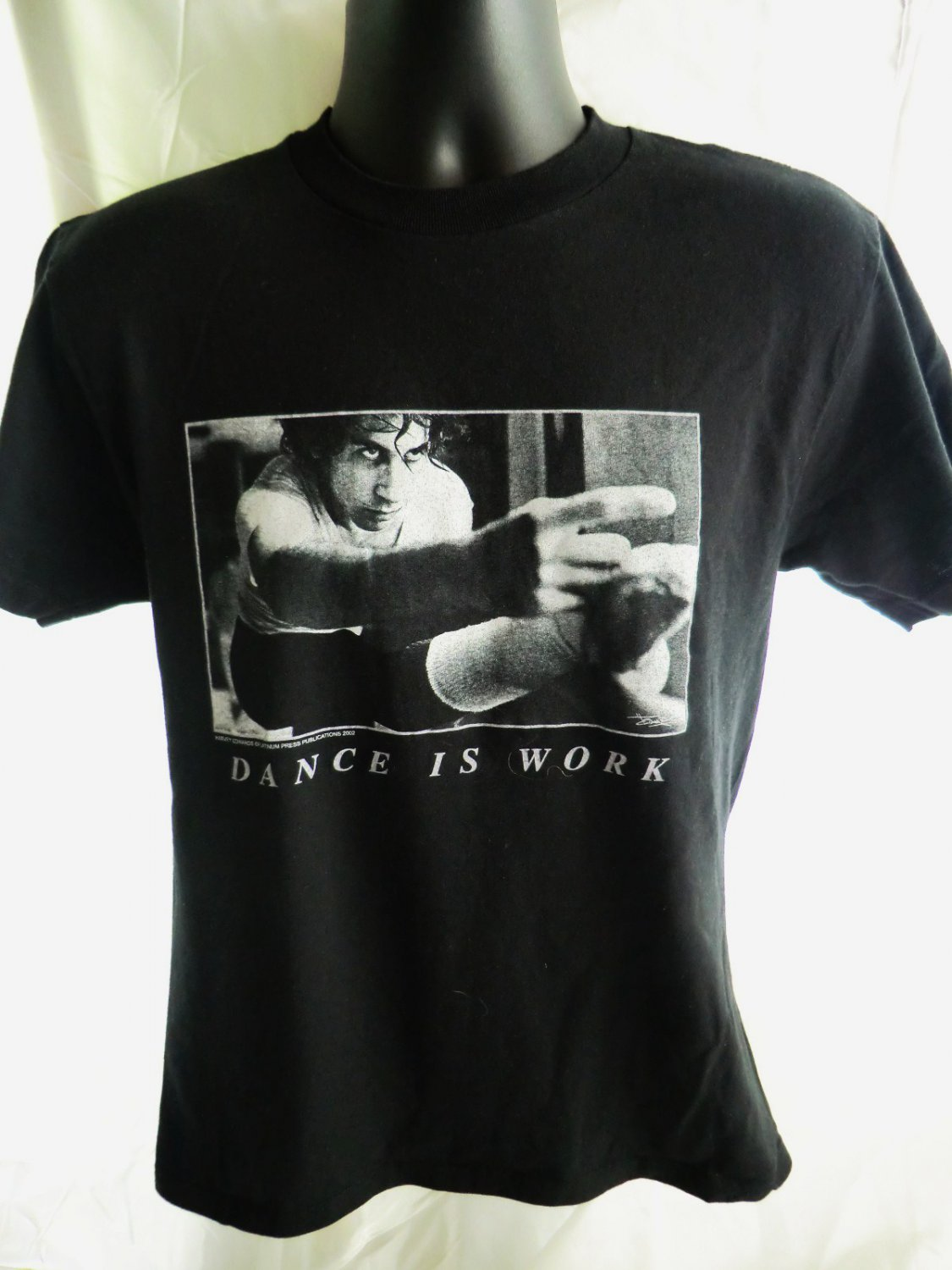 SOLD! DANCE IS WORK T-Shirt Size Medium