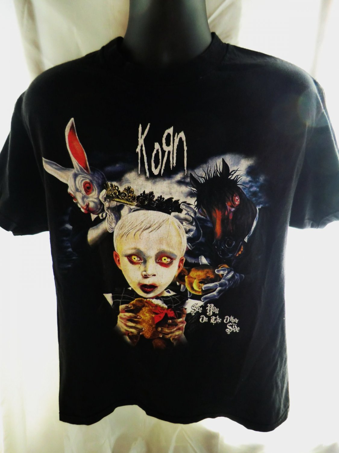 SOLD! KORN T-Shirt See You On The Other Side Size Large