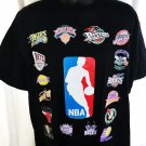NEW NBA Basketball T-Shirt Team Logos Size Large