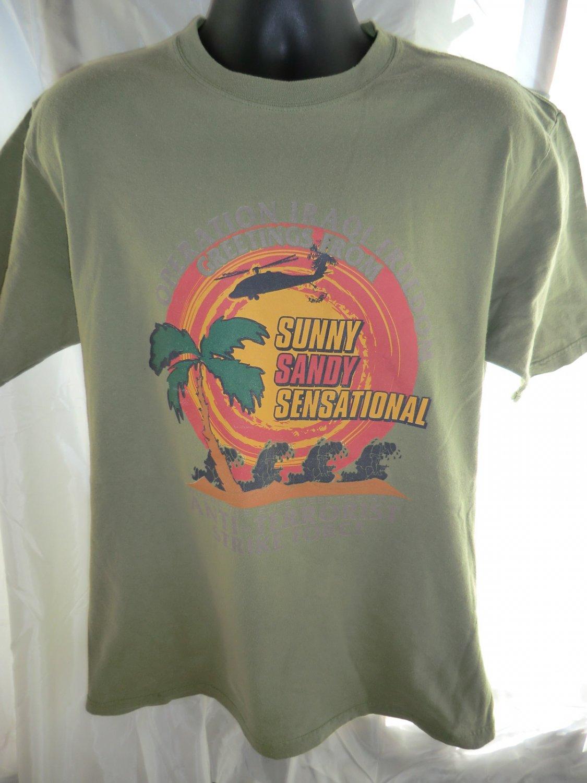 Operation Iraqi Freedom Anti-Terrorist Strike Force T-Shirt Size Large