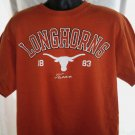 TEXAS LONGHORNS T-Shirt Size Large XL University of TX