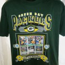 1996 Vintage Green Bay Packers Grid Iron Warriors T-Shirt Size Large