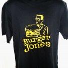 Fun BURGER JONES T-Shirt Size Large