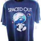 NEW! Spaced Out Smurf T-Shirt Size XXL
