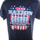 ONE NATION UNDER GOD T-Shirt Size Medium
