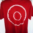 Red Tie Dye Target T-Shirt Size Large XL