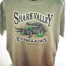 Shark Valley Everglades T-Shirt Size Large National Park American Crocodile