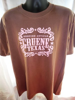 genuine article gruene texas t shirt size large. Black Bedroom Furniture Sets. Home Design Ideas