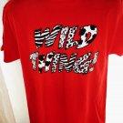 WILD THING Red T-Shirt Size Medium