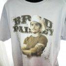 Brad Paisley 2007 Bonfires & Amplifiers Tour T-Shirt Size XL
