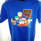 South Park Characters Size Medium Blue T-Shirt