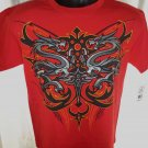 New Red T-Shirt Cool Dragon Graphic Size Medium Large