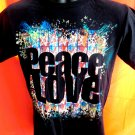Hard Rock Café Peace Love Toronto T-Shirt Size SMALL