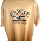 New AWESOME DAD T-Shirt Size XXL World's Greatest Father