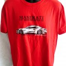 MASERATI of Minneapolis Red T-Shirt Size Large Gran Turismo