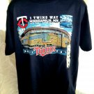 Minnesota MN Twins Stadium T-Shirt Size Large 2010