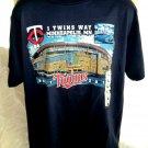 Minnesota MN Twins Stadium T-Shirt Size Large 2010