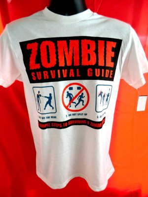 Zombie Survival Guide T-Shirt Size Small