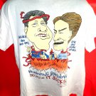 Rare Funny Clinton Gore T-Shirt ~ Bubba Head VeePeeVus Size Large